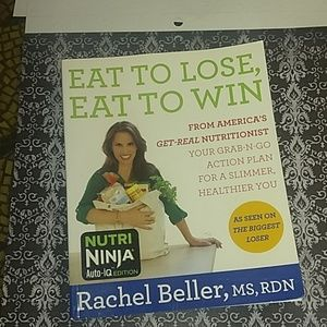 Eat to lose eat to win by Rachel Beller